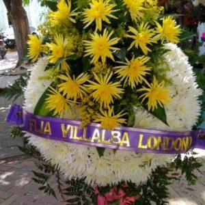 Coronas fúnebres en ciénegas