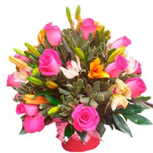Rosas y Globos