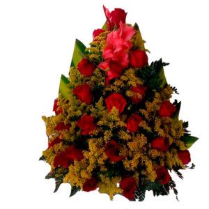 Peluches y rosas a toda Santa Marta