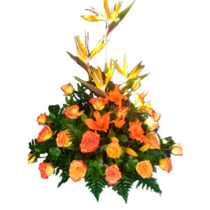 Flores exóticas a domicilio