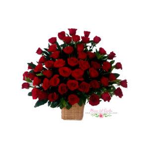 Ramo de rosas rojas a domicilio