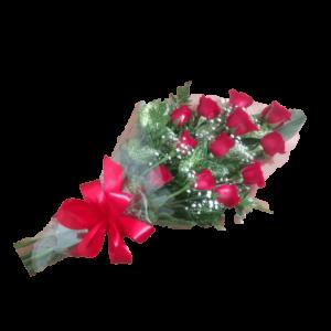Ramillete de rosas rojas